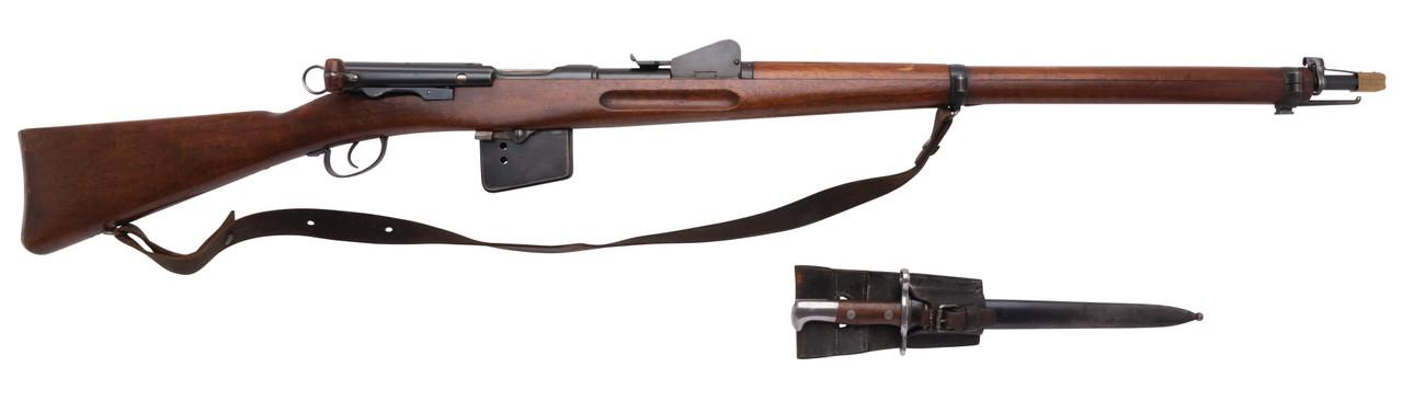 W+F Bern Swiss 1889 w/ Matching Bayonet - sn 56xx7