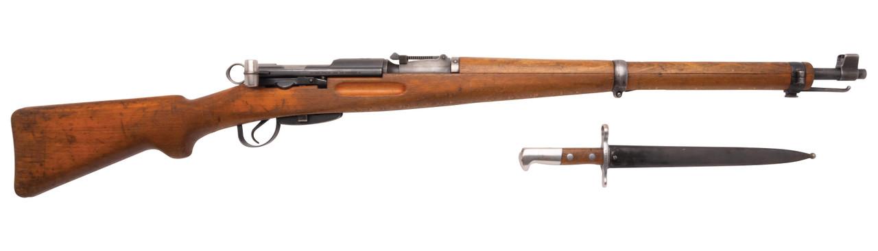 W+F Bern Swiss K31 w/ Matching Bayonet - 846xxx
