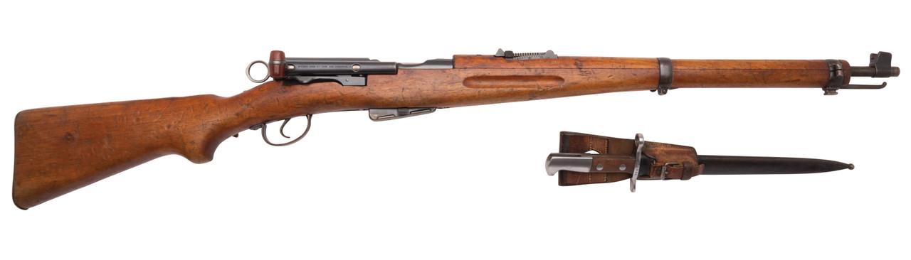 W+F Bern Swiss K11 w/ Matching Bayonet - s/n 201xxx