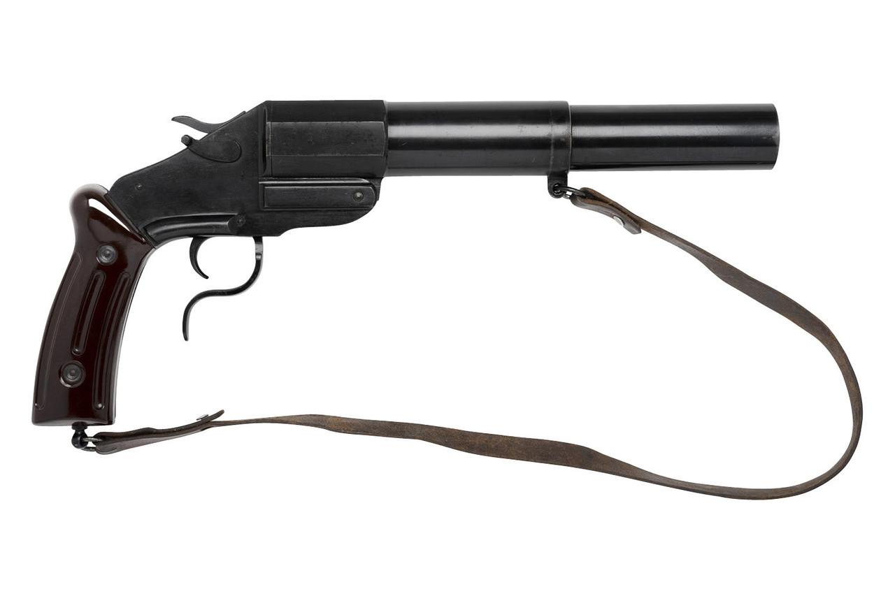 Swiss M17/38 Flare Gun - $695 (PCFP-1787) - Edelweiss Arms