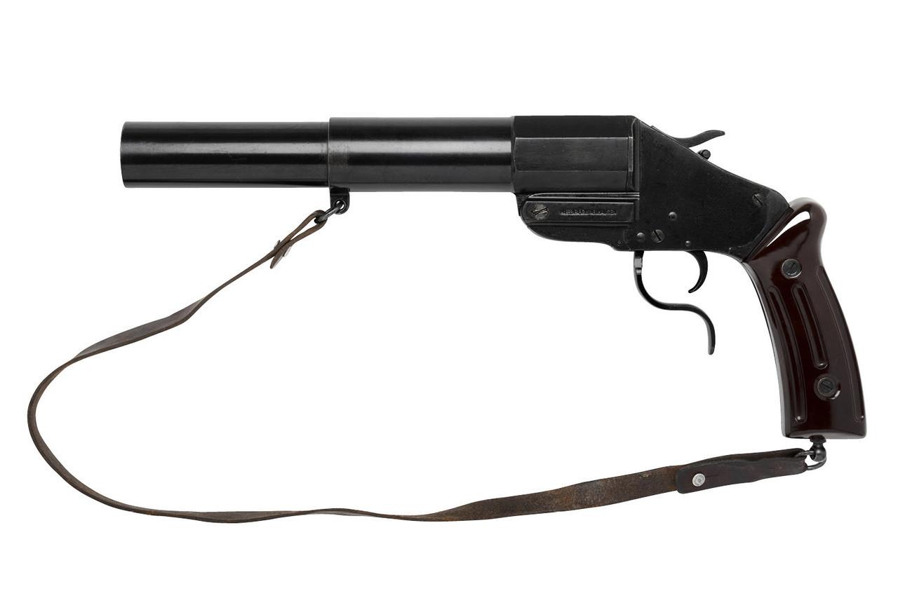 Swiss Military M17/38 Flare Gun - sn 1xx7