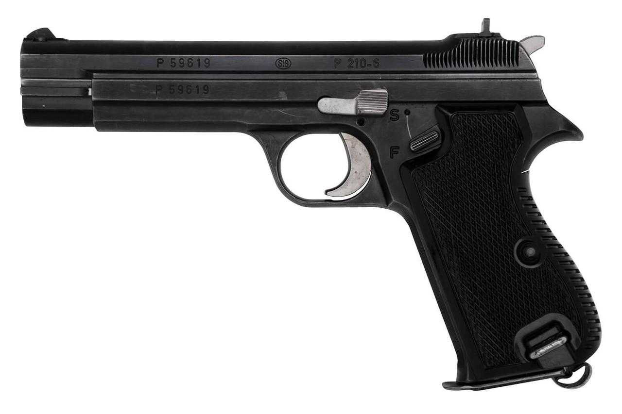 SIG P210-6 Sport Pistol w/ Case - sn P59xxx