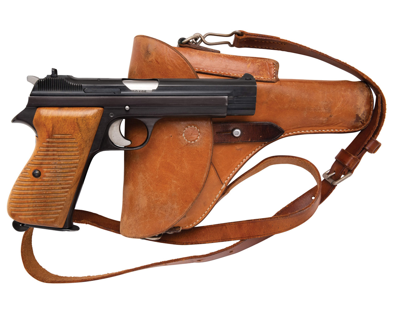 SIG Swiss Army P49 w/ Holster - sn A109xxx