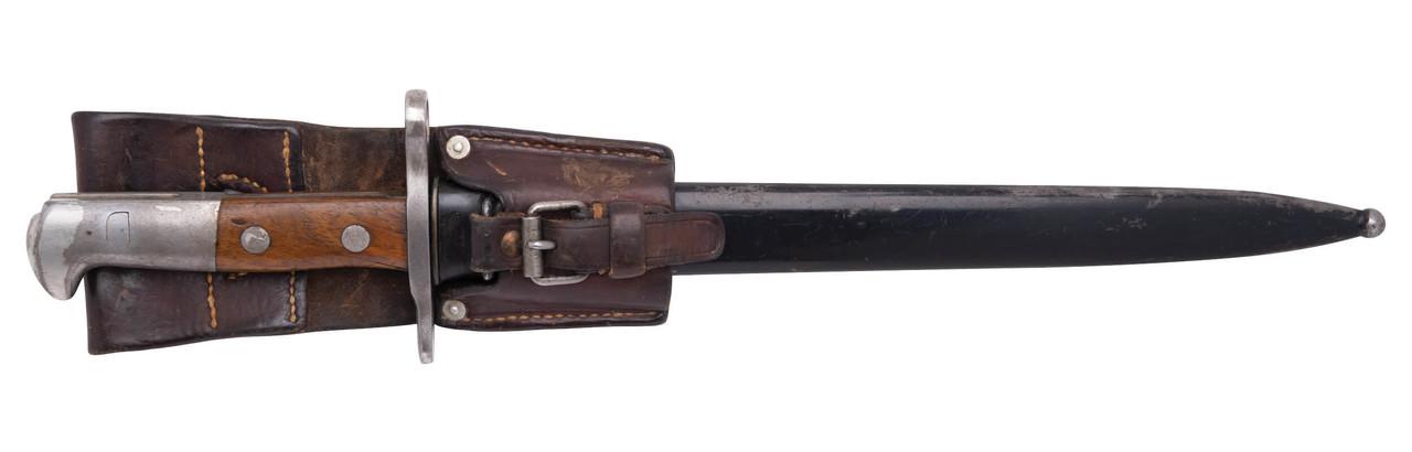Swiss M1918 Bayonet - No Serial (02)
