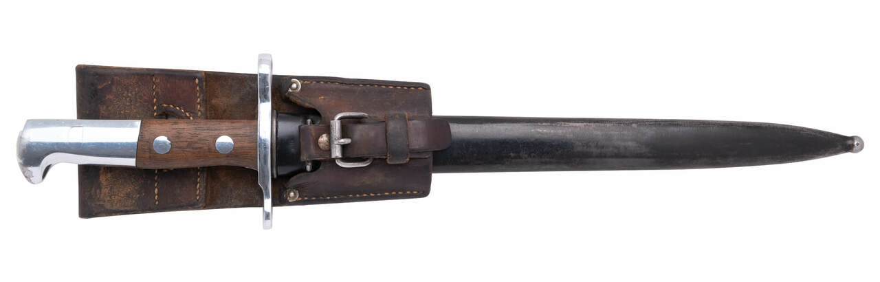 Swiss M1918 Bayonet - No Serial (03)