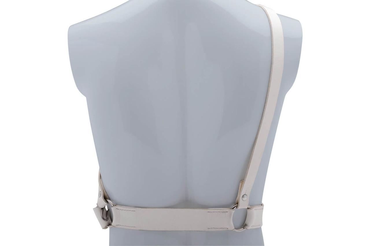 Swiss White Leather Parade Uniform Belt