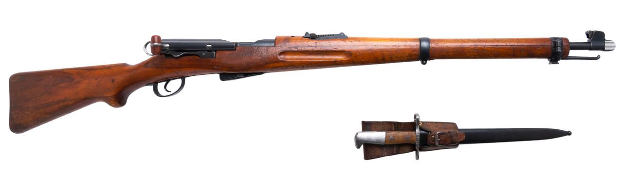 W+F Bern Swiss K11 w/ Matching Bayonet - s/n 210xxx