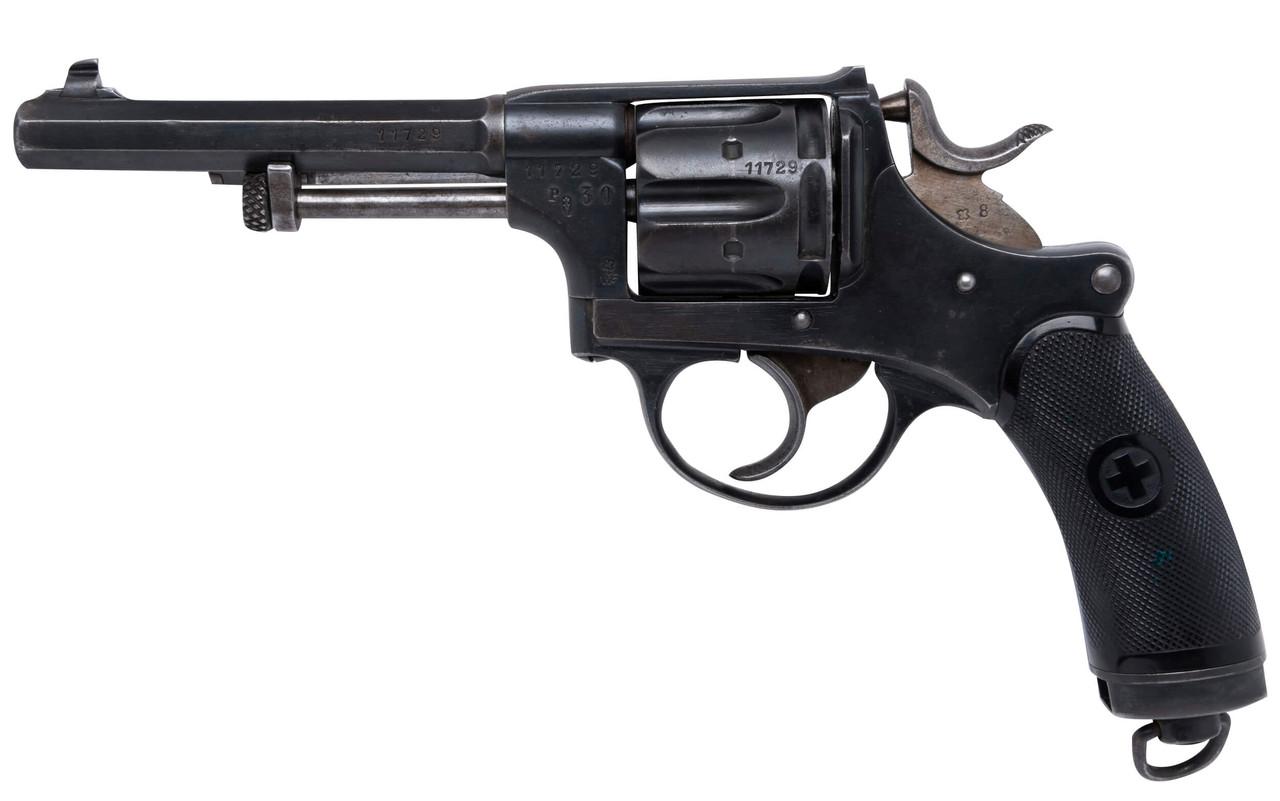 W+F Bern Swiss 1882 Revolver w/ Holster - sn 117xx