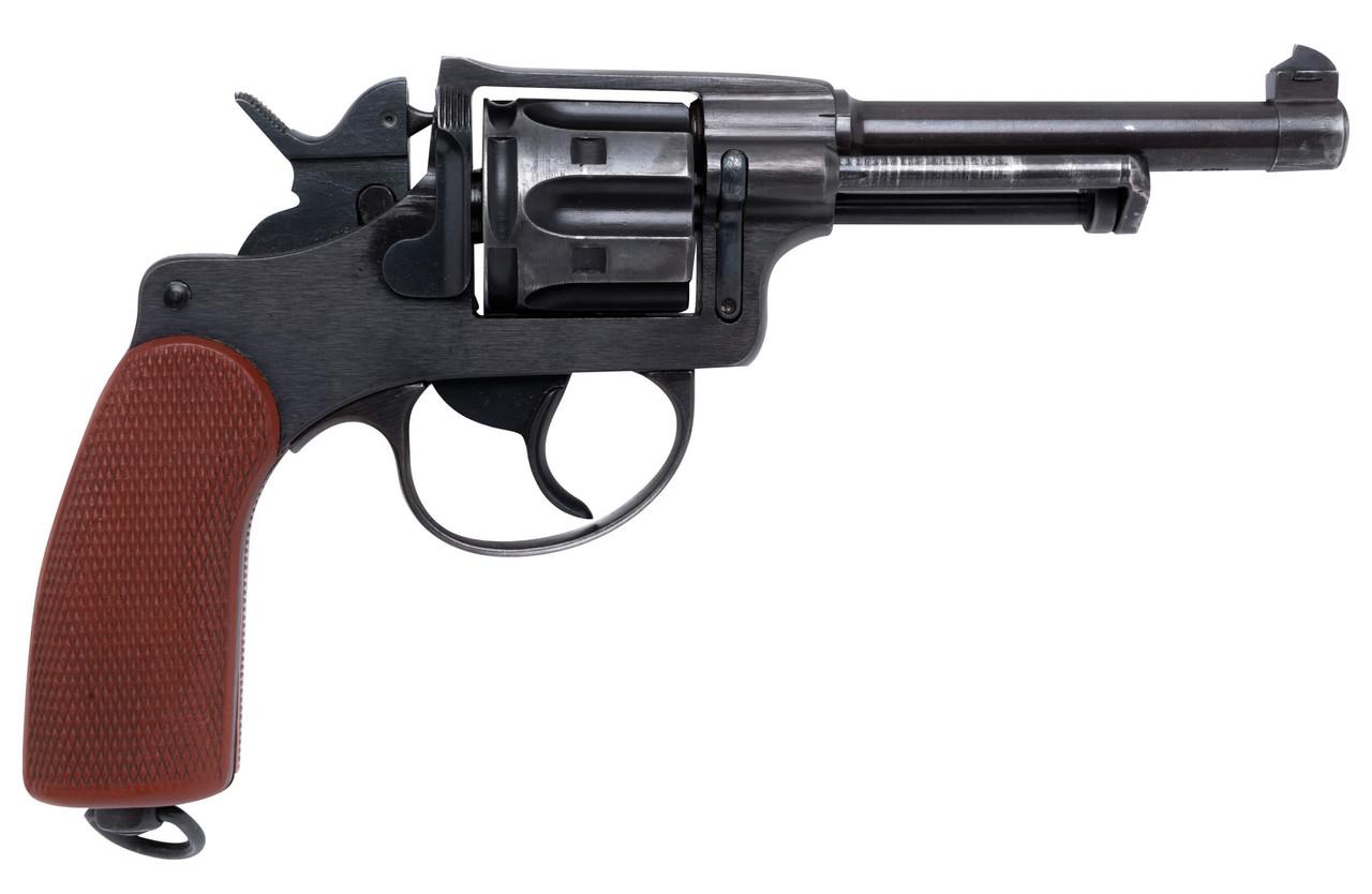 W+F Bern Swiss 1929 Revolver - Red Grips - 53xxx