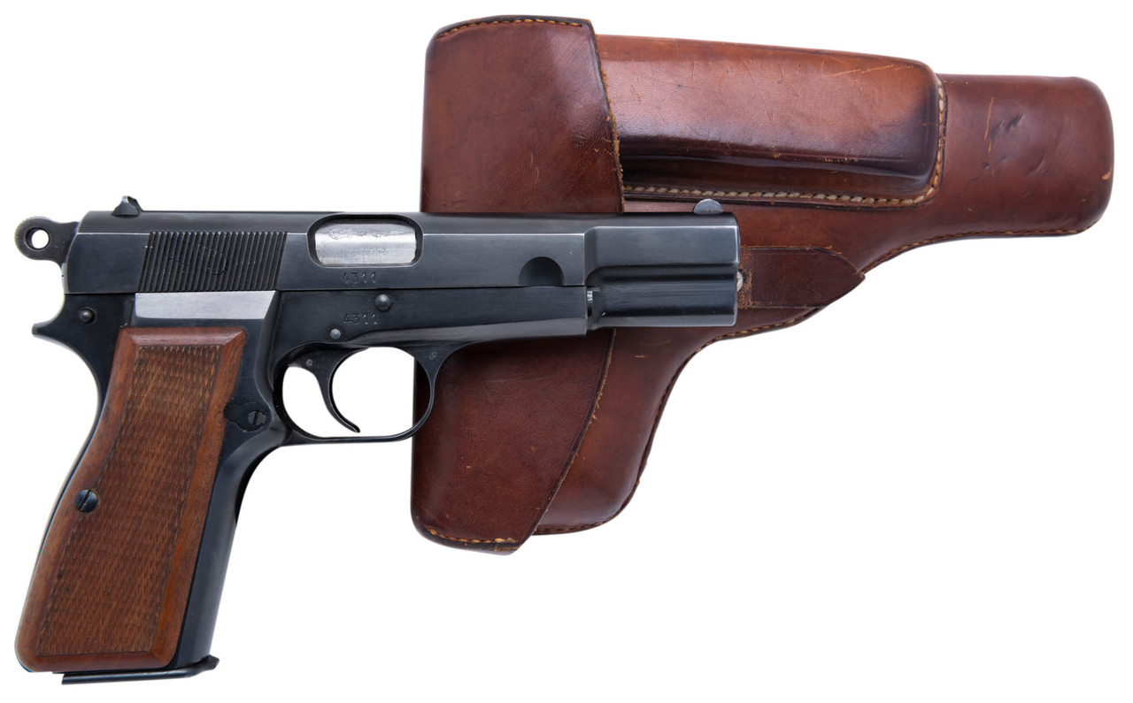 FN GP-35 Browning Hi Power w/ Holster - sn 4xxx