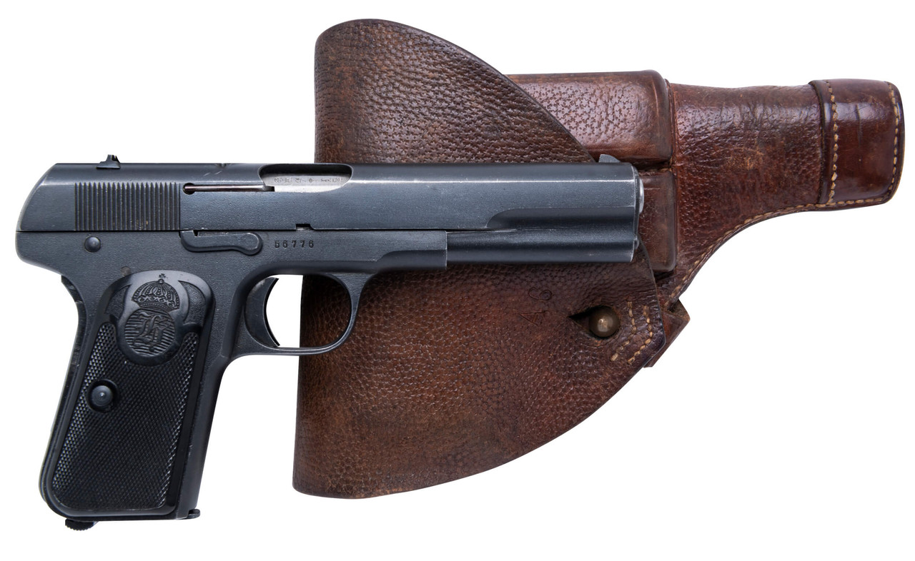 Husqvarna 1907 w/ Holster and Spare Mags - sn 56xxx