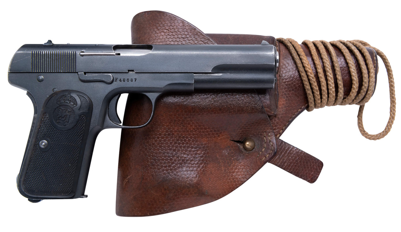 Husqvarna 1907 Air Force w/ Holster and Spare Mags - sn F48xxx