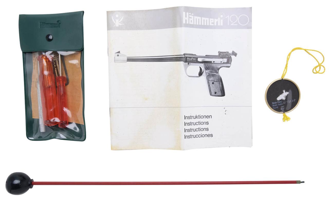Hammerli 120 Target Pistol - sn 12-0xxx