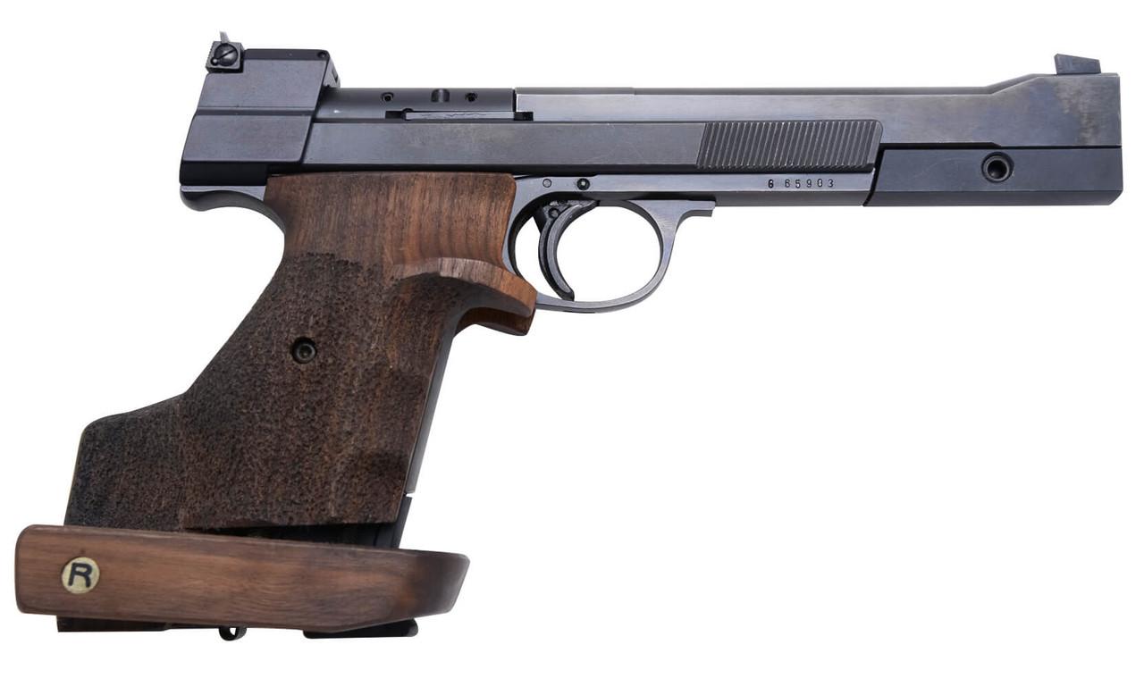 Hammerli 215 Target Pistol w/ Rink Grip - sn G65xxx