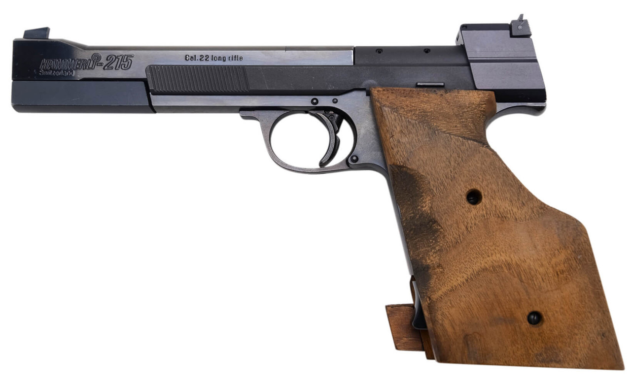 Hammerli 215 Target Pistol - sn G671xx