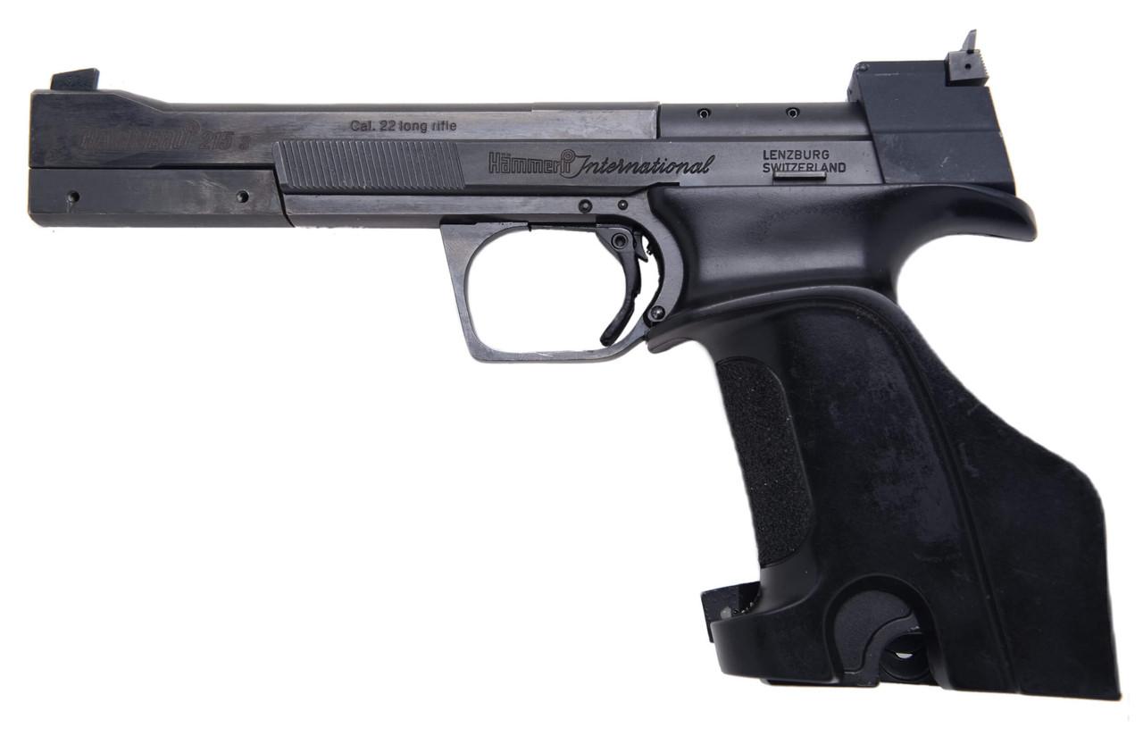Hammerli 215S Target Pistol - sn 78xxx