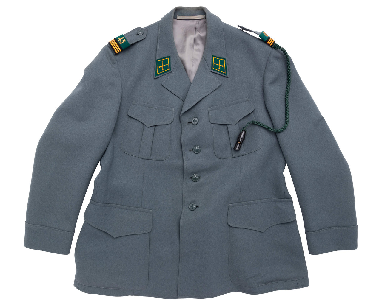 Swiss Army Captain Uniform - Mortar / Anti-Air