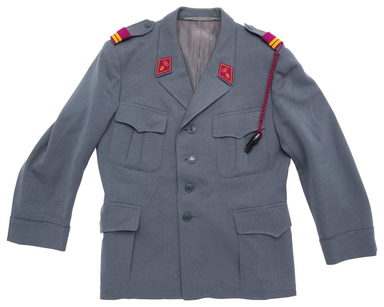 Swiss Army Lt Colonel Uniform - Materials Transportation / Driver
