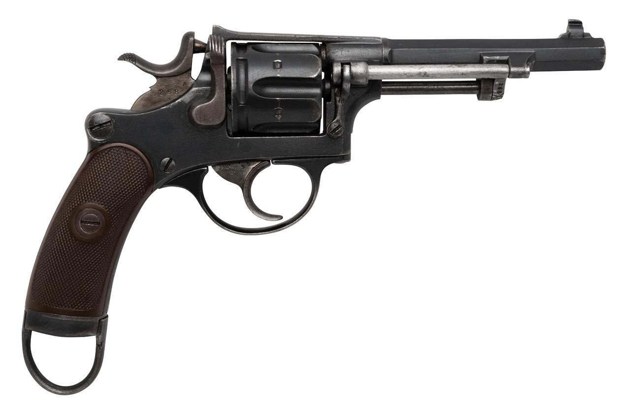 Scarce W+F Bern Swiss 1882 Cyclist Revolver w/ Holster - sn 32xx