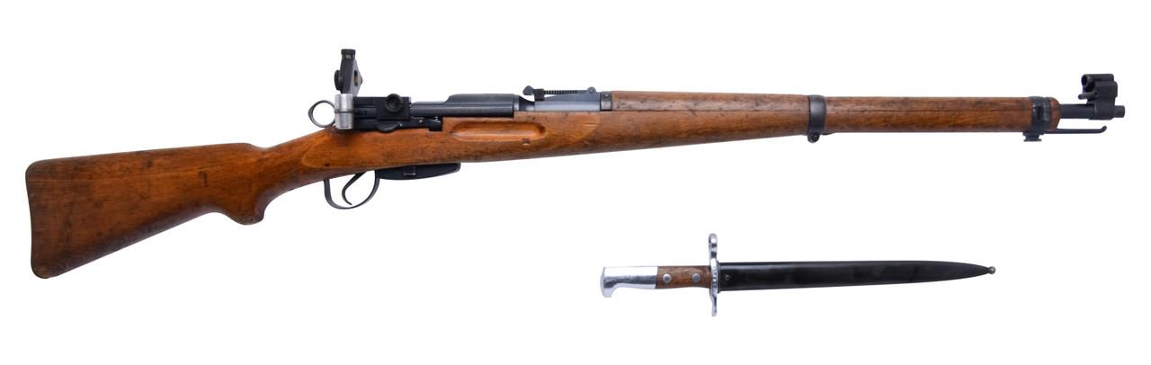 W+F Bern Swiss K31 w/ Diopter & Matching Bayonet - sn 858xxx