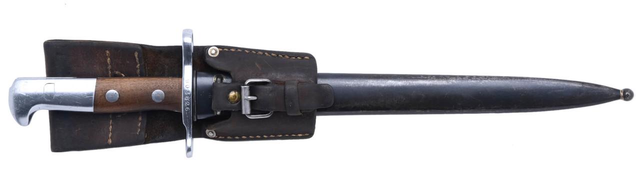 M1918 Bayonet w/ Scabbard & Frog - sn 903826