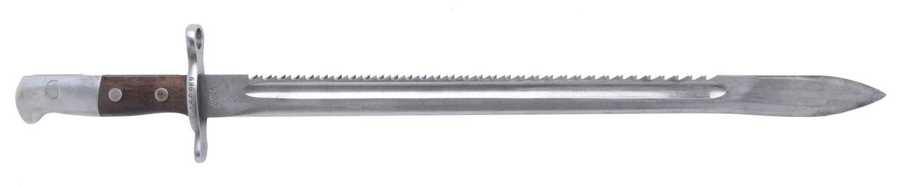 M1914 Pioneer Sawback Bayonet - sn 696650