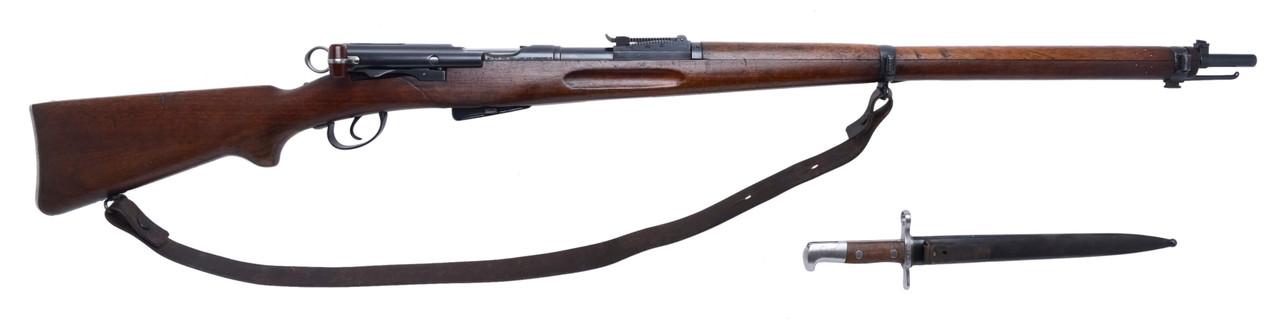 W+F Bern Swiss 1896/11 w/ Matching Bayonet - sn 317xxx