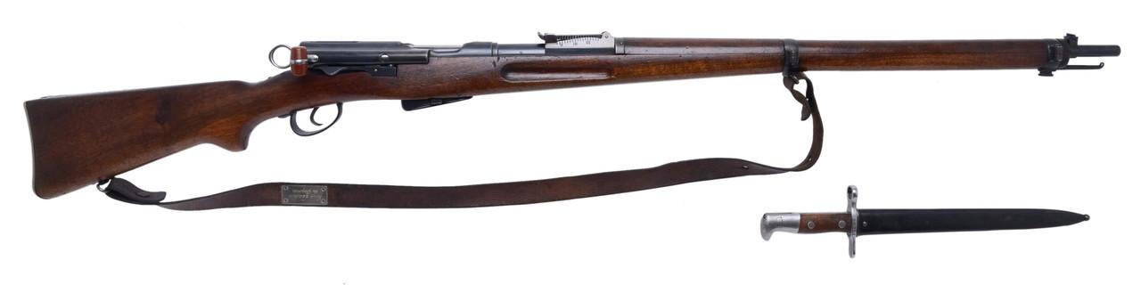 W+F Bern Swiss 1896/11 w/ Matching Bayonet - sn 228xxx