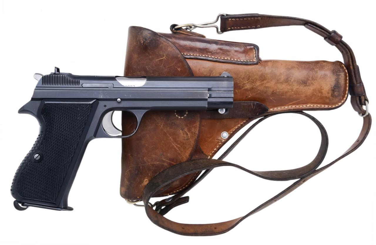 SIG Swiss Army P49 w/ Holster - sn A129xxx