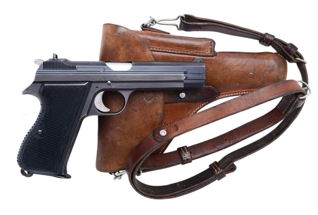 SIG Swiss Army P49 w/ Holster - sn A151xxx