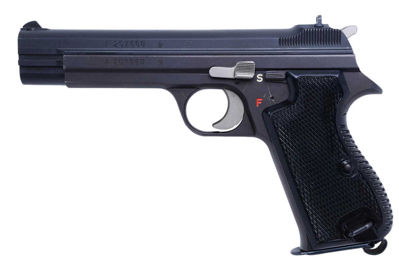 SIG Swiss Army P49 with Holster - sn A207xxx