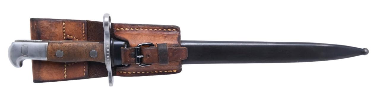M1899 Bayonet w/ Scabbard & Frog - sn 481662