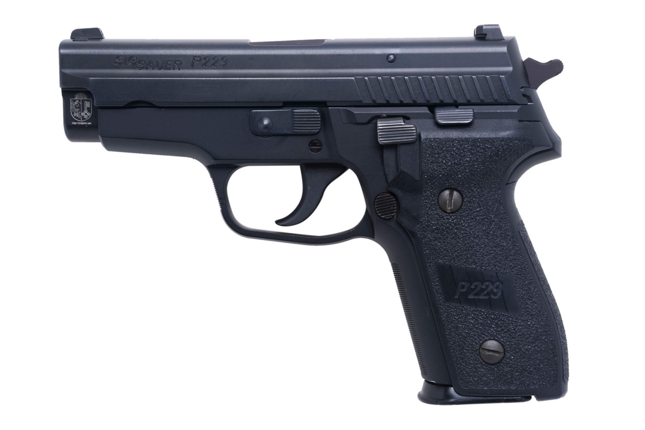 SIG Sauer P229 - Geneva Police - sn AH12xxx