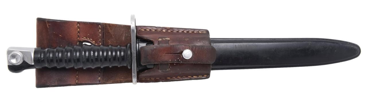 M1957 Bayonet w/ Scabbard & Frog - sn 61674