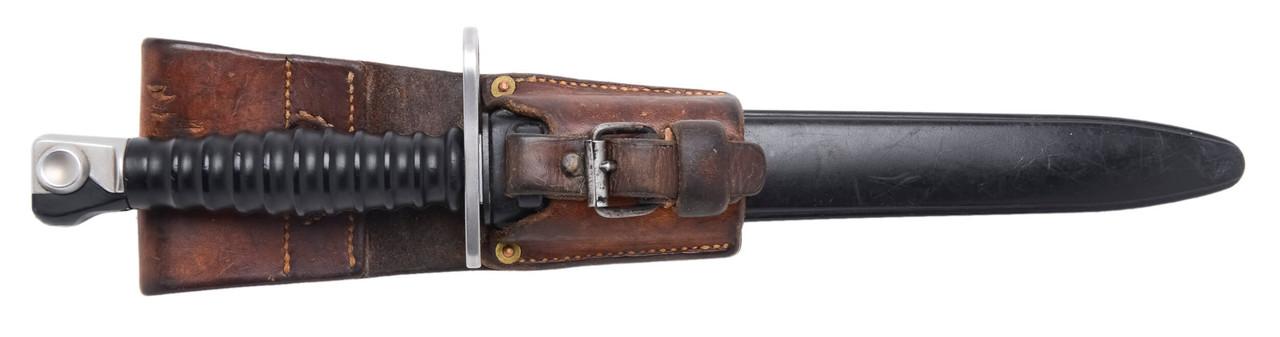 M1957 Bayonet w/ Scabbard & Frog - sn 369112