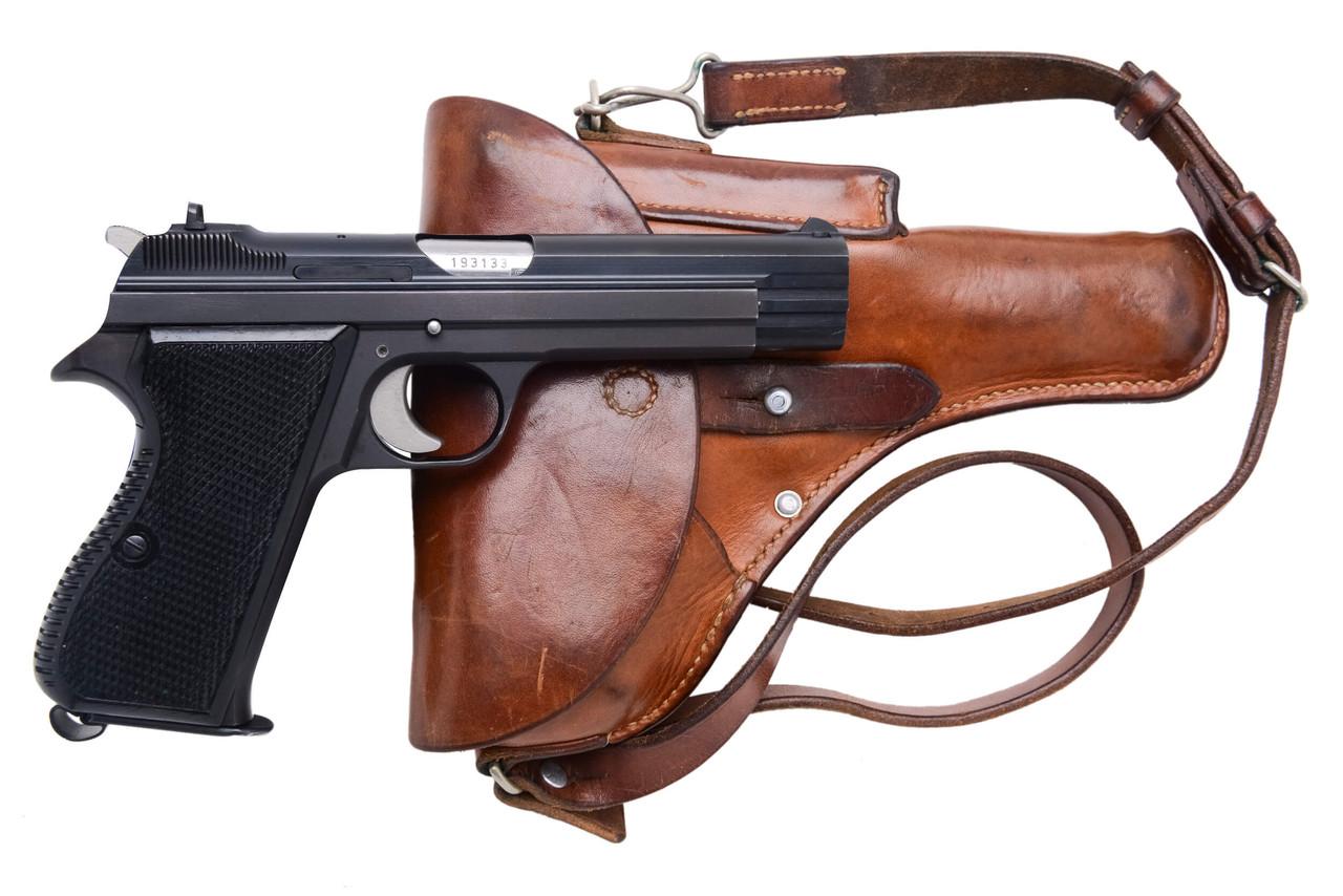 SIG Swiss Army P49 w/ Holster - sn A193xxx
