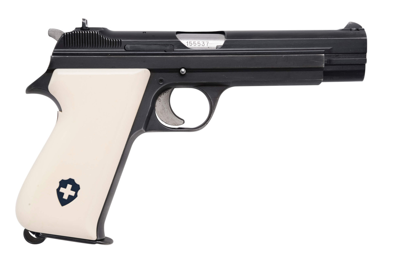 SIG Swiss Army P49 w/ Holster - sn A1555xx