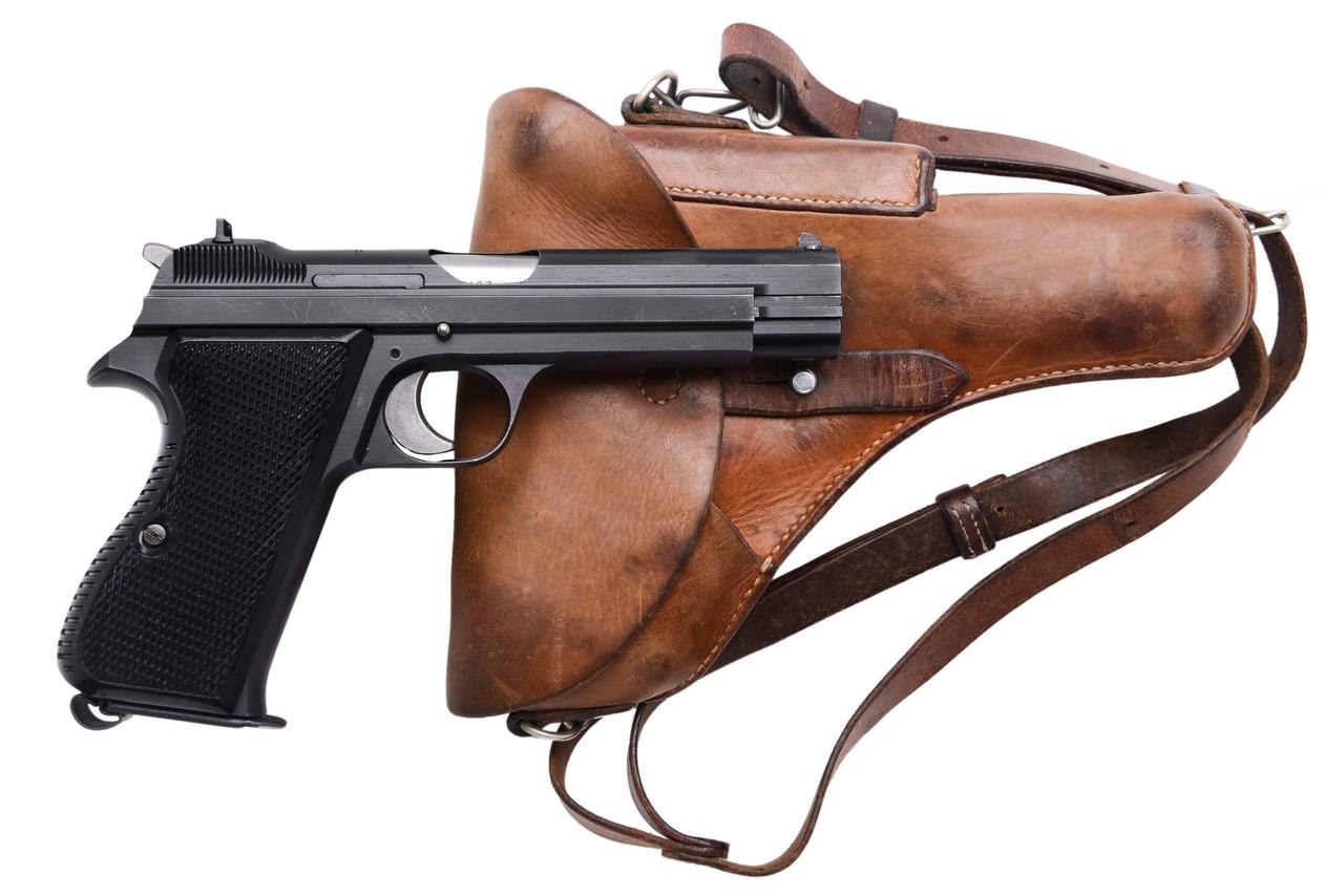 SIG Swiss Army P49 w/ Holster - sn A133xxx