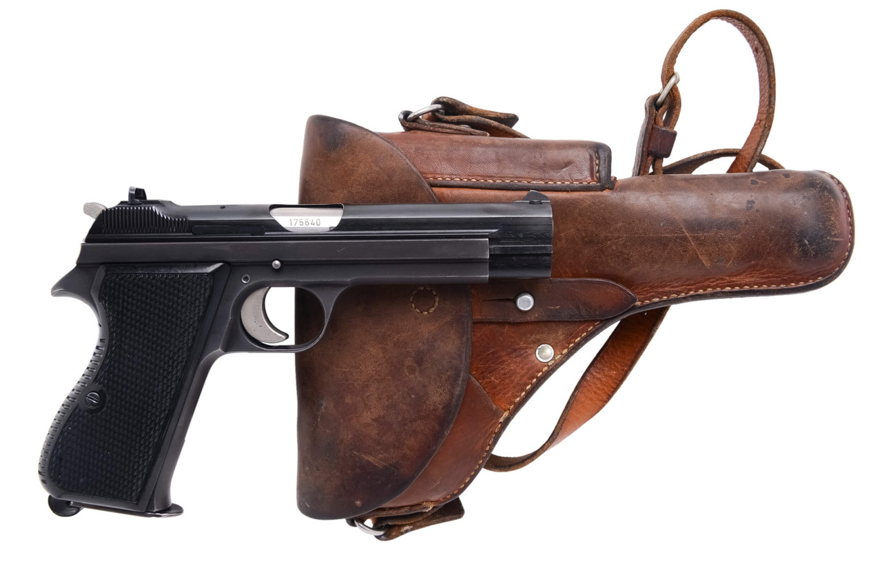 SIG Swiss Army P49 w/ Holster - sn A1756xx