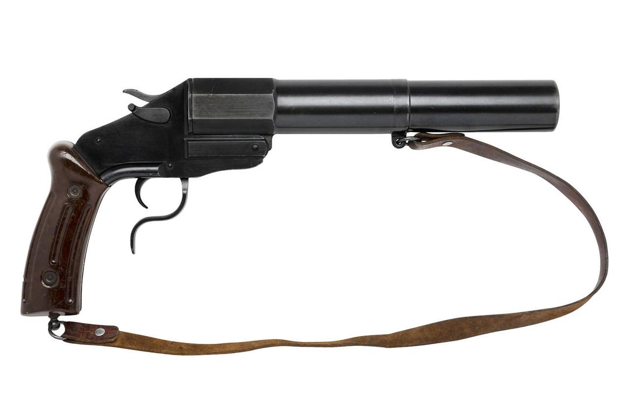 Swiss M17/38 Flare Gun - $675 (PCFP-8633) - Edelweiss Arms