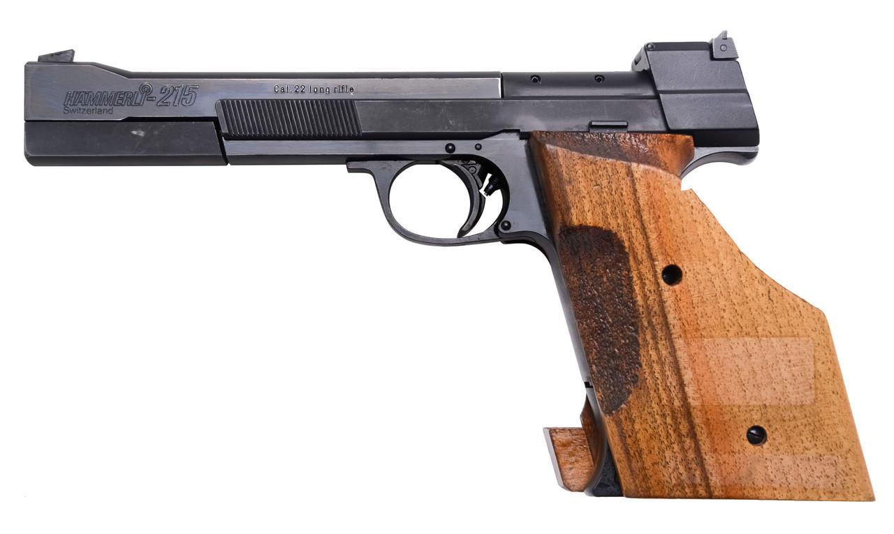 Hammerli 215 Target Pistol - sn G75xxx