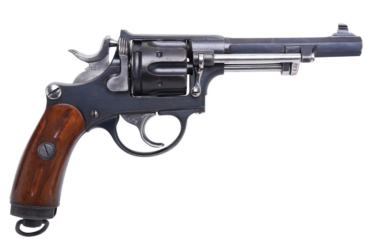 W+F Bern Swiss 1882 Revolver - 28xxx