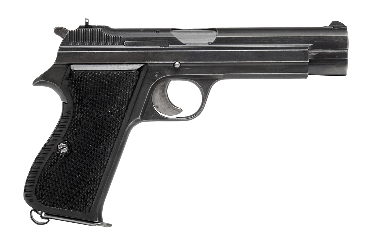 SIG P210-4 Border Police - $2995 (D1790) - Edelweiss Arms