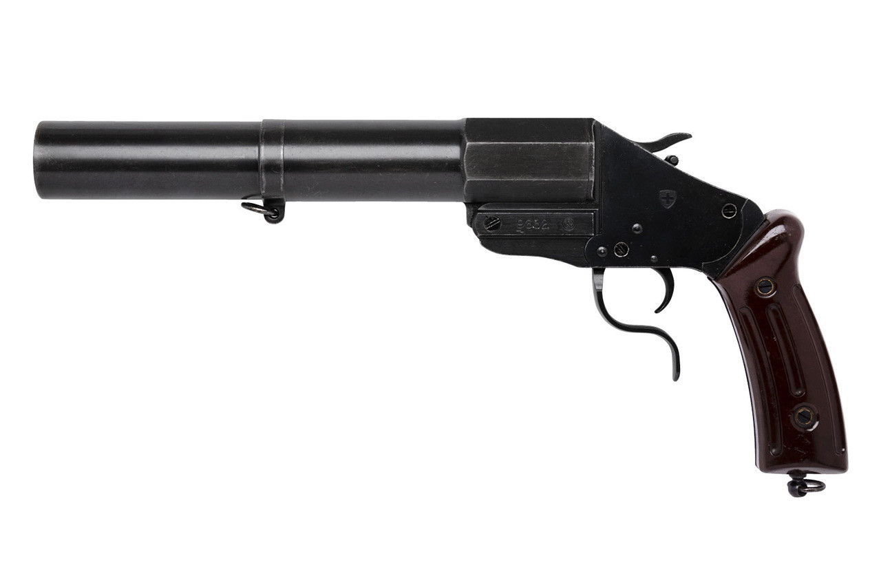 Swiss Military M17/38 Flare Gun - sn 9xxx