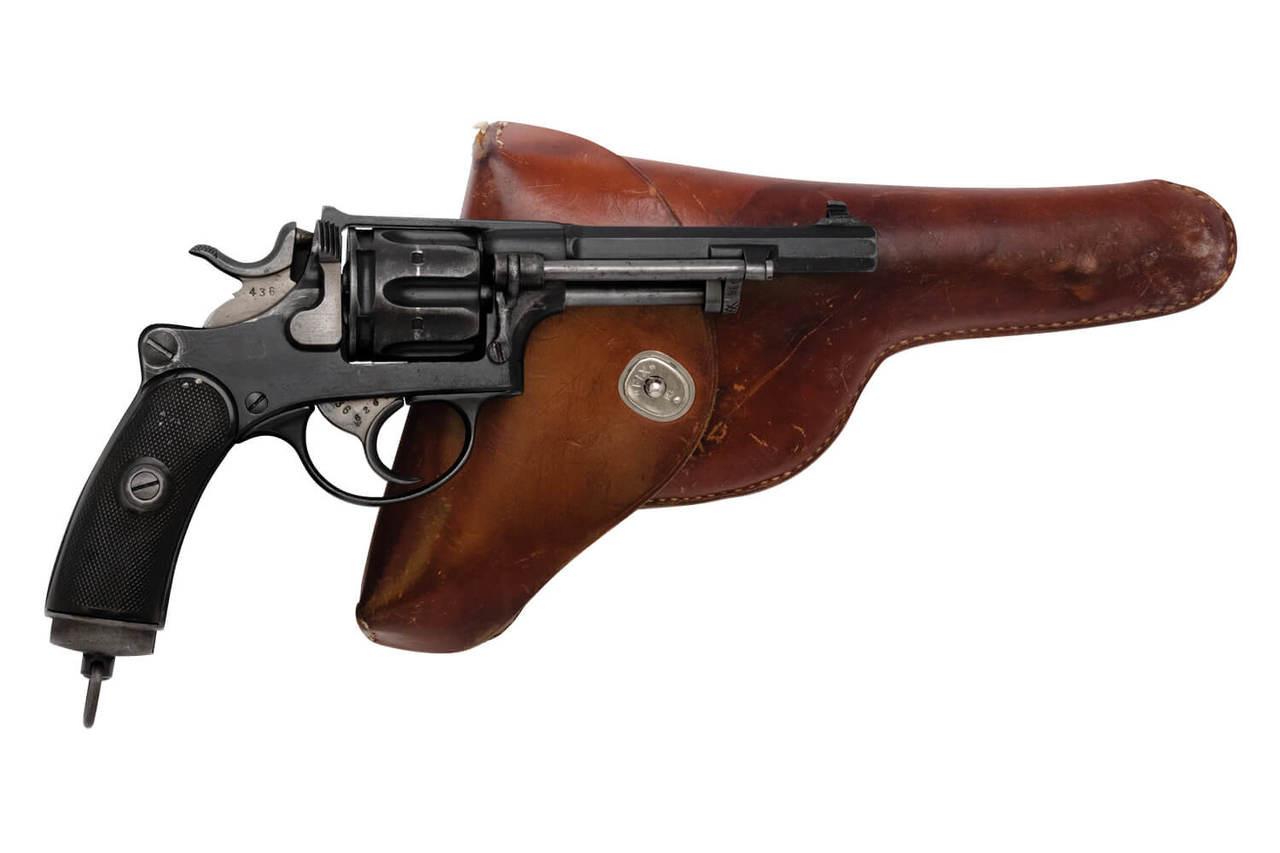W+F Bern Swiss 1882 Private Series Revolver w/ Holster - sn P4xxx