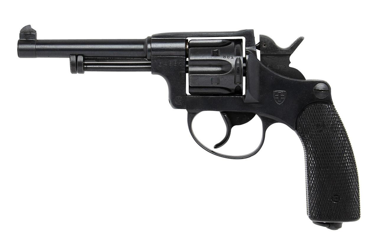 W+F Bern Swiss 1929 Revolver - sn 64xxx