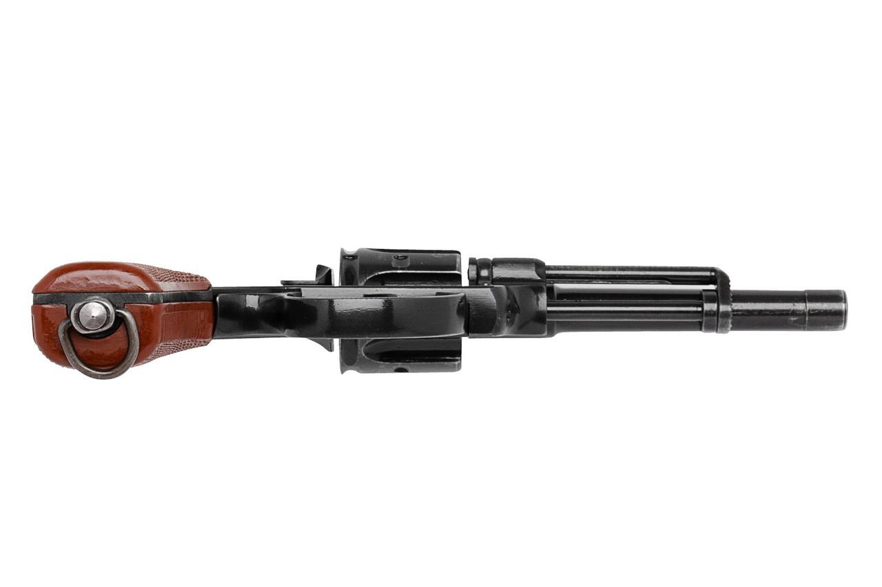 W+F Bern Swiss 1929 Revolver with Red Grips - sn 51xxx