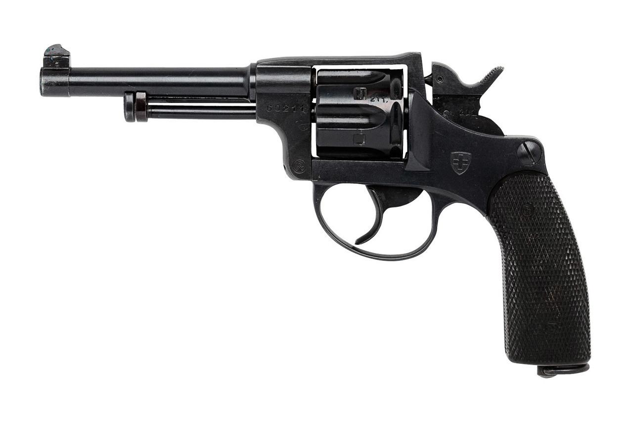 W+F Bern Swiss 1929 Revolver w/ Holster - sn 60xxx