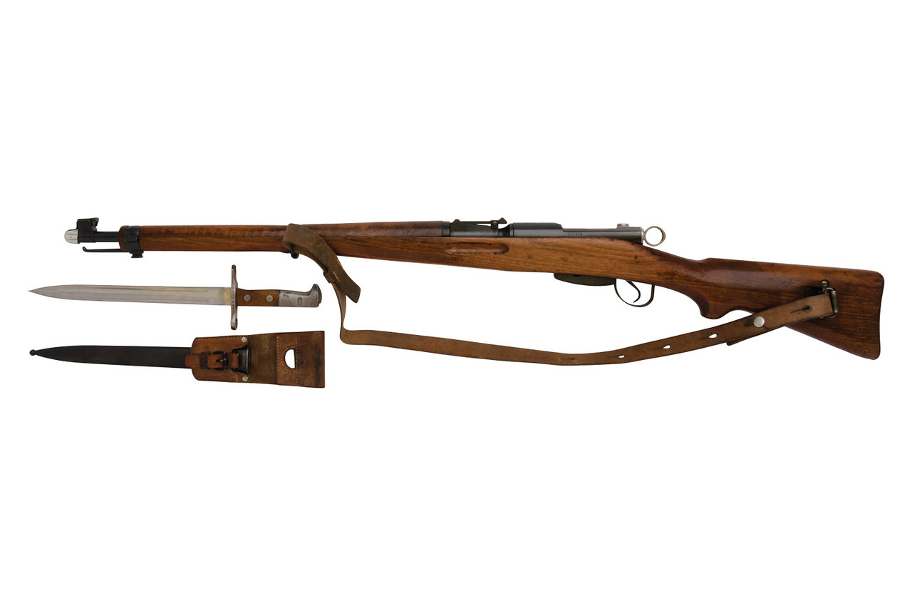 W+F Bern Swiss K31 w/ matching bayonet- sn 6973XX