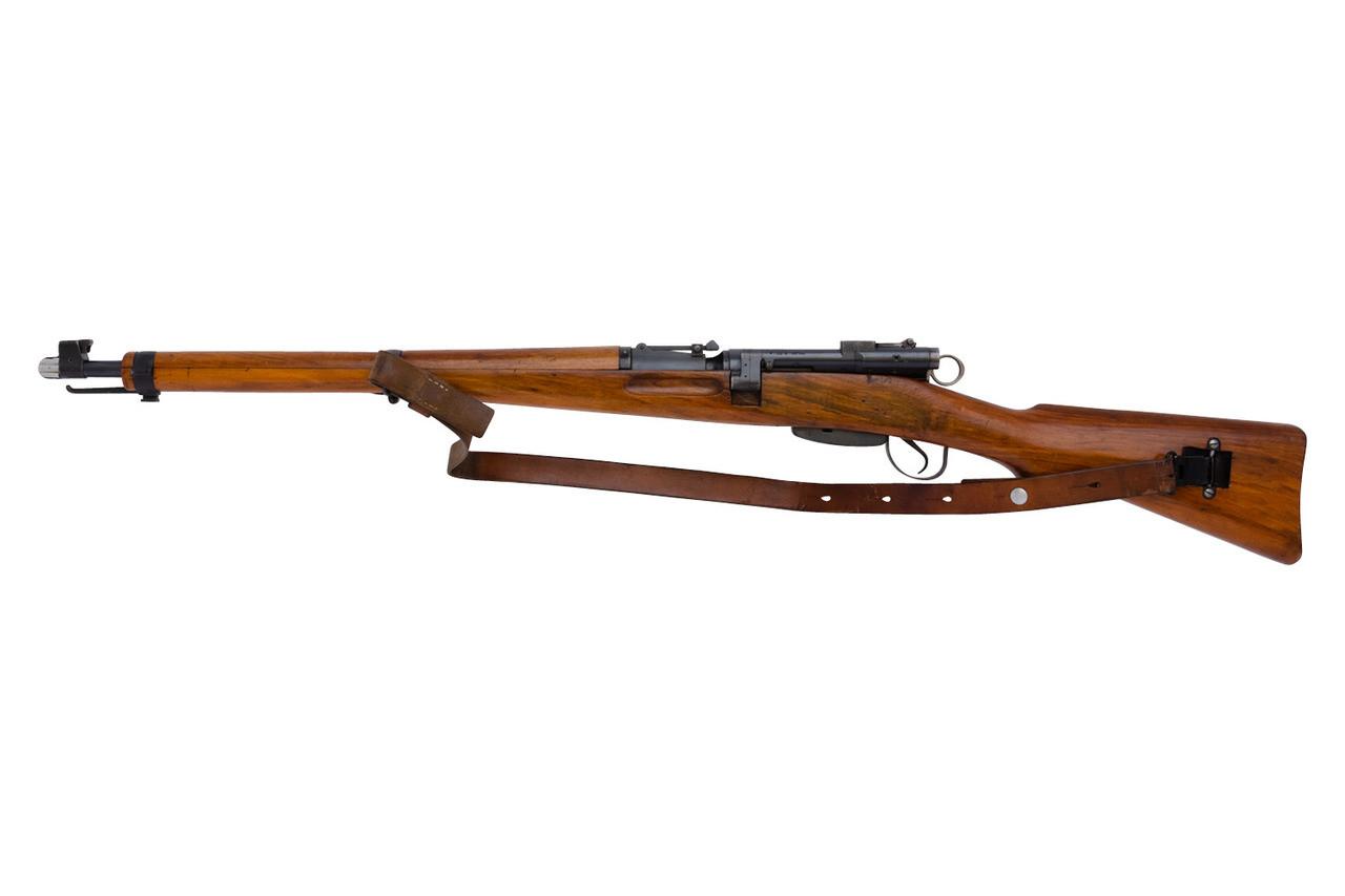 Swiss ZFK 31/43 Sniper Rifle w/ matching bayonet - sn 451xxx
